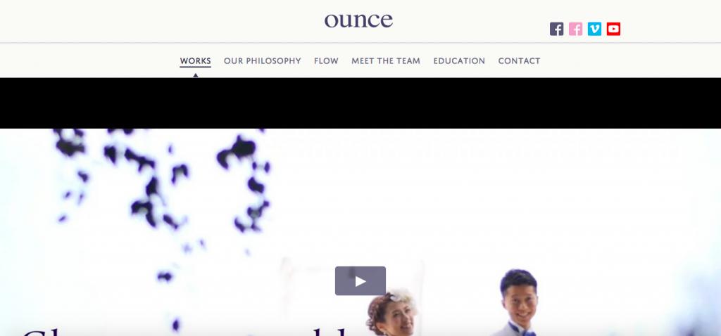 OUNCE(オンス)
