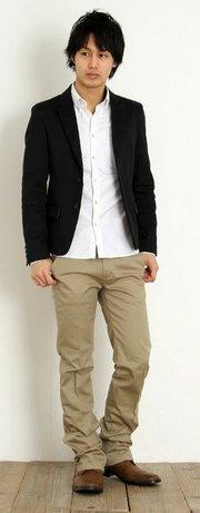フォーマルなジャケットスタイル
