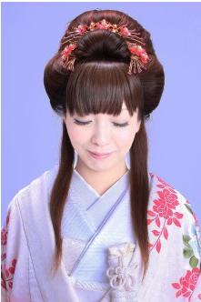 個性的なヘアスタイル