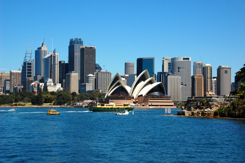 View on the Sydney Opera House. Sydney, Australia
