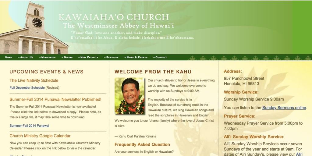 kawaiahao