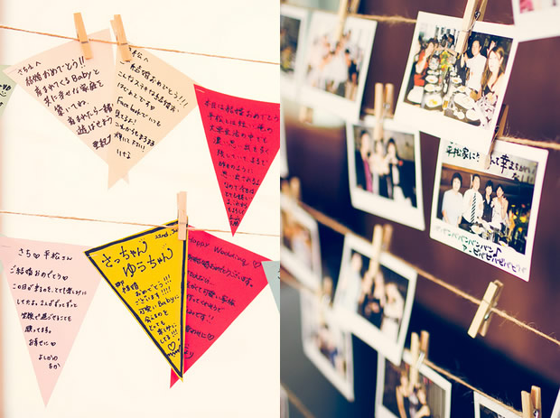 チェキで写真撮影&メッセージ