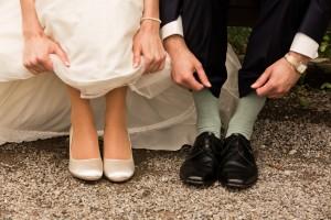 Hochzeitspaar Detailaufnahme