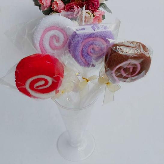 キャンディー型タオル