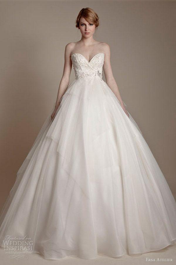 1.プリンセスラインドレスの種類