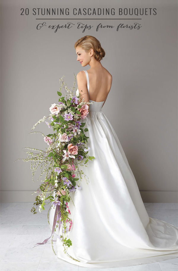 20-stunning-cascading-bouquets