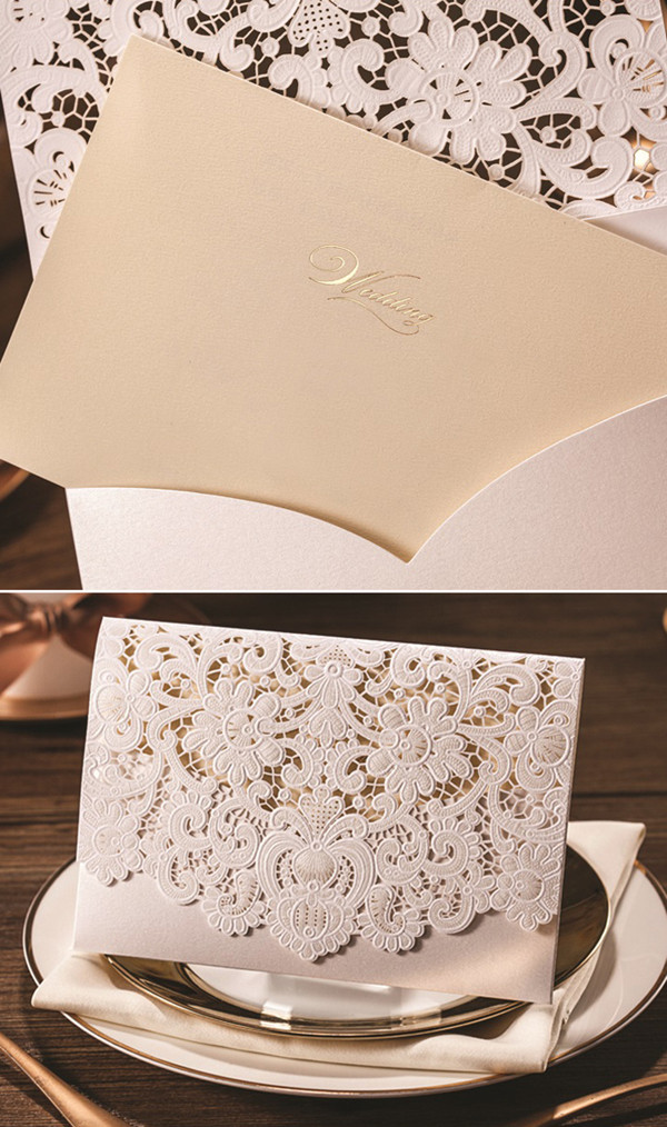 laser-cut-folded-vintage-lace-wedding-invitations