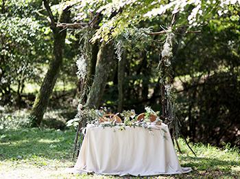 都会の喧騒から離れた軽井沢の森の中で、大切なゲストをお迎えする一軒家ウエディング HARMONY HOUSE WEDDING