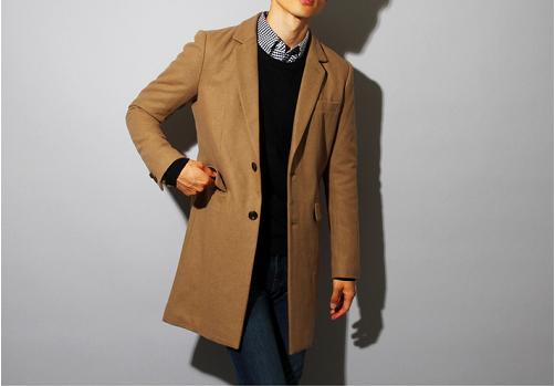 冬に適したコートスタイル