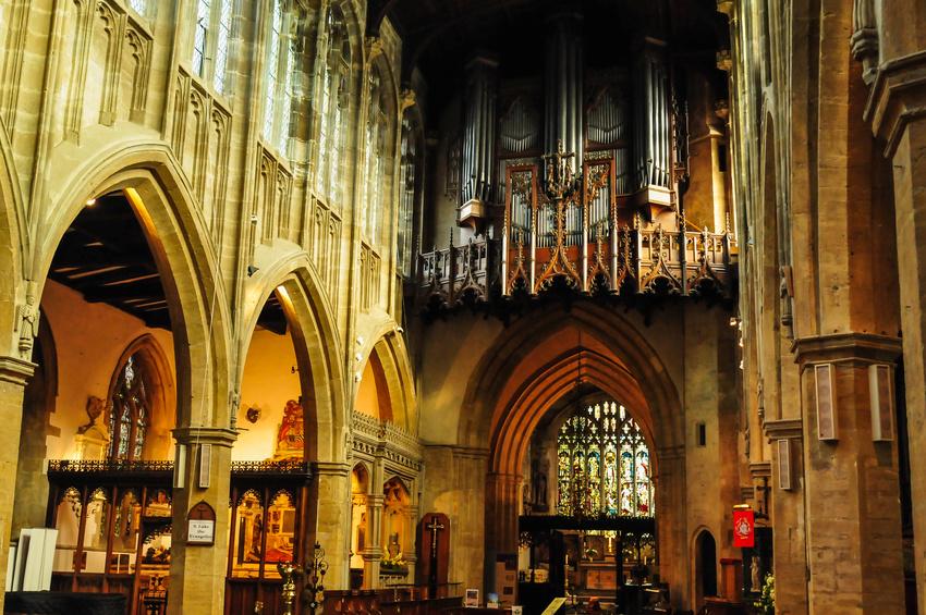 イギリス ホーリー・トリニティ教会 Holy Trinity Church