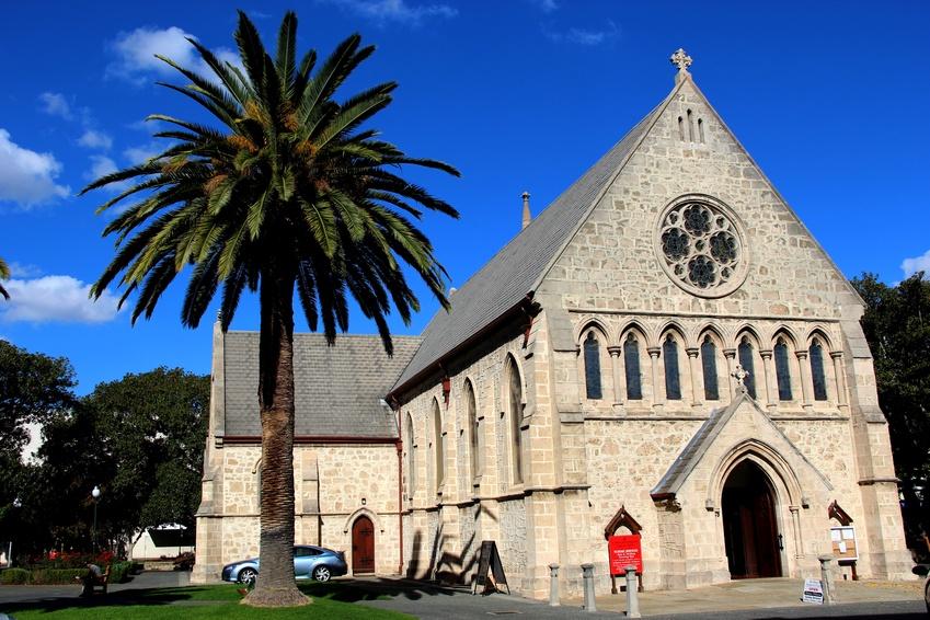 Eglise, Fremantle, Western Australia, Australie