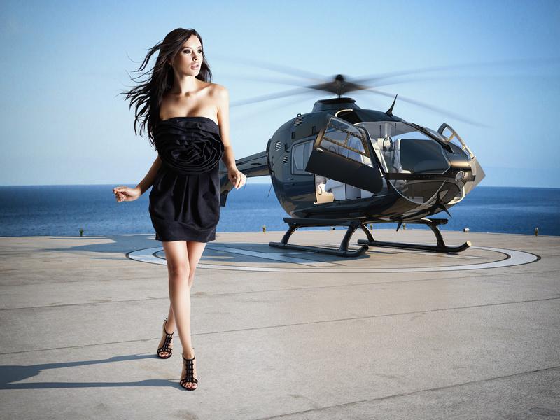 ヘリコプター プロポーズ
