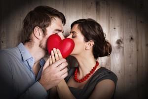 love heart couple