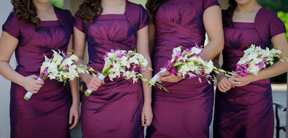 欧米では上品で女性らしさを表す紫色も人気