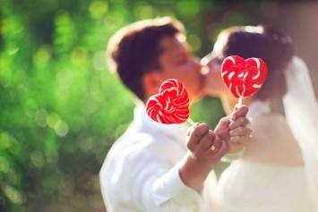 結婚式 演出 ハート