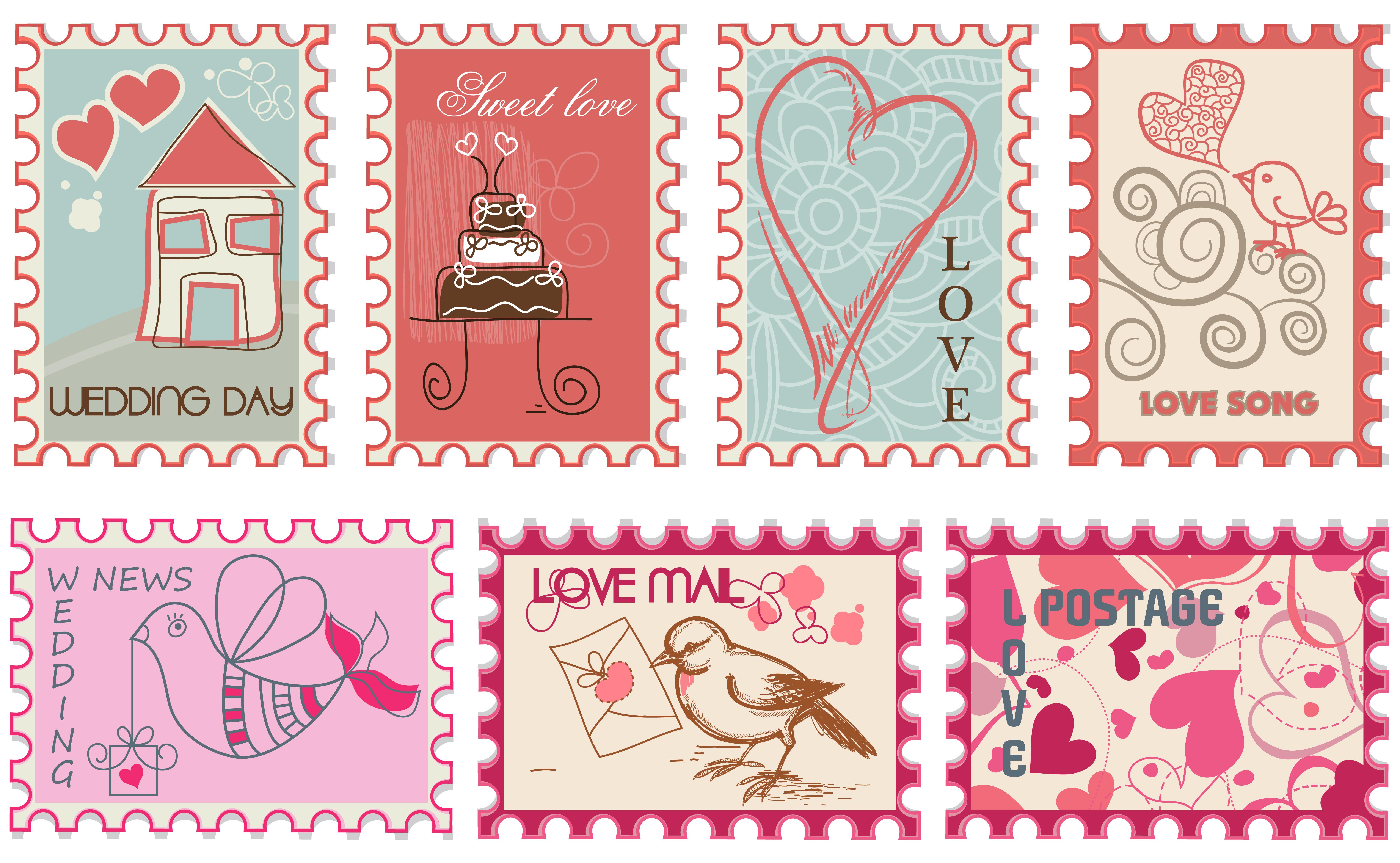 結婚式の招待状は切手にもこだわる!慶事用に使える可愛い切手まとめ