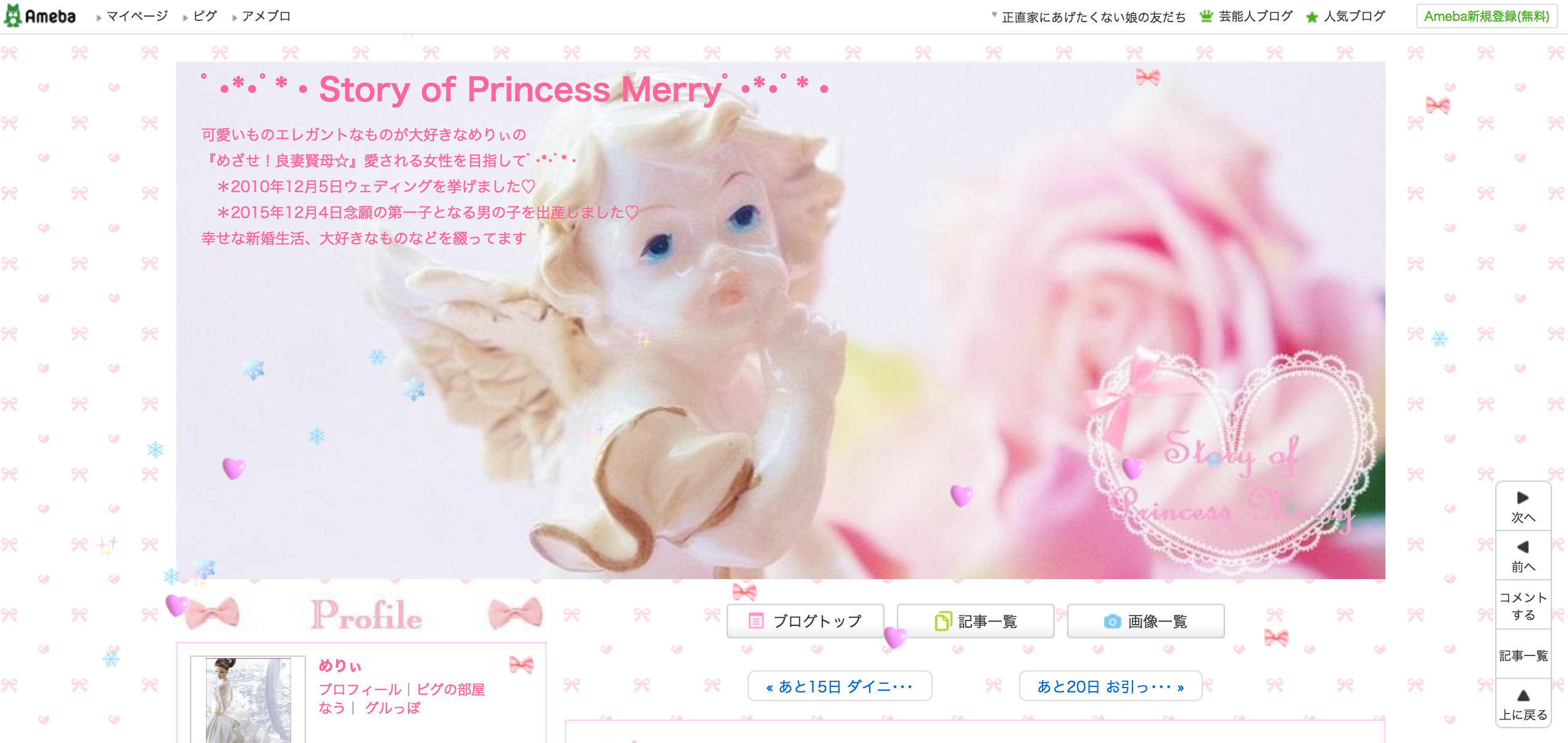 ・*・゚*・Story of Princess Merry゚・*・゚*・