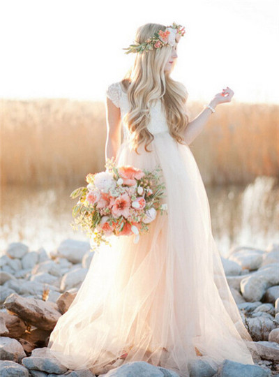 pale-pink-wedding-dress
