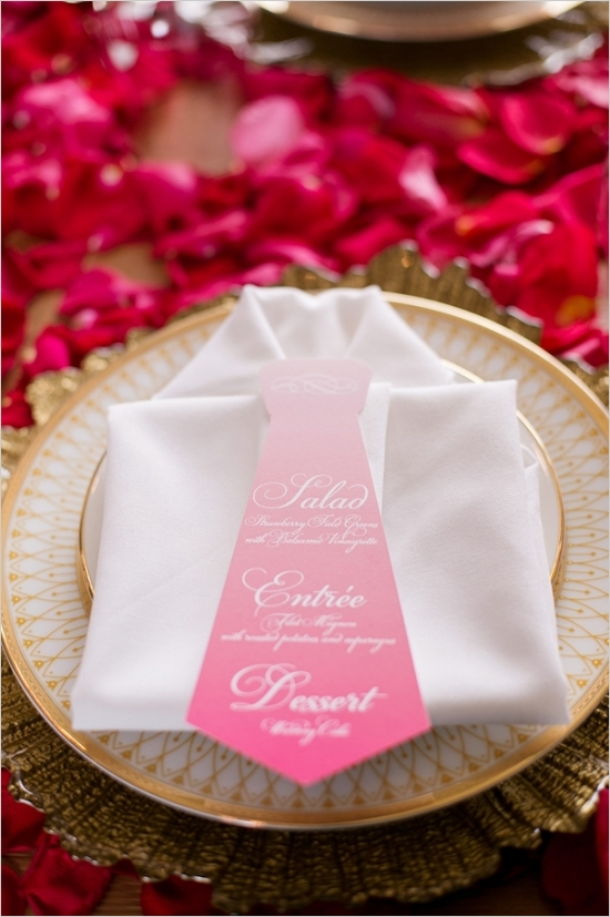 shirt-and-tie-table-setting