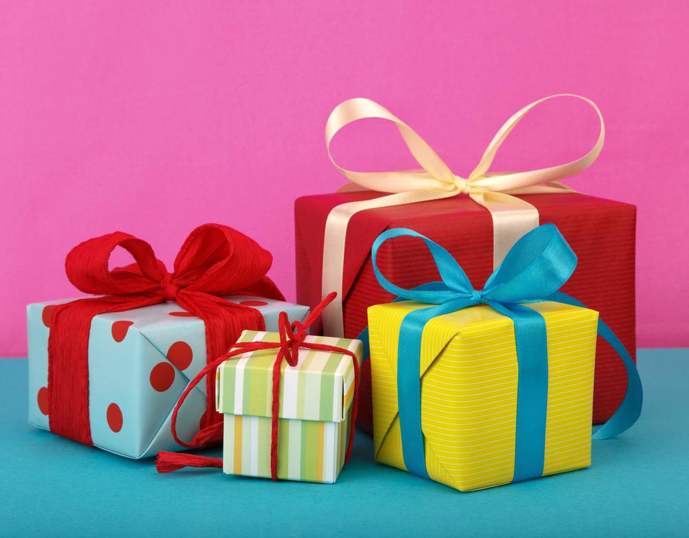 Поздравления разные к подарками