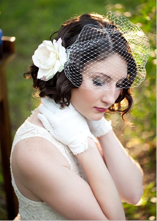 結婚式-髪型-ショート-花嫁-画像-