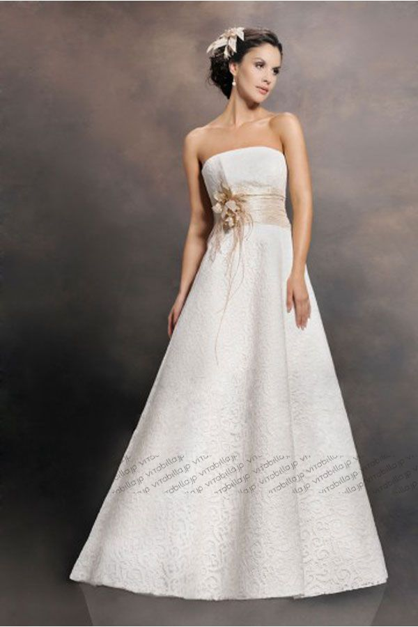 a-line-wedding-dress-strapless-floor-length-lace-satin--white-021154026003-a