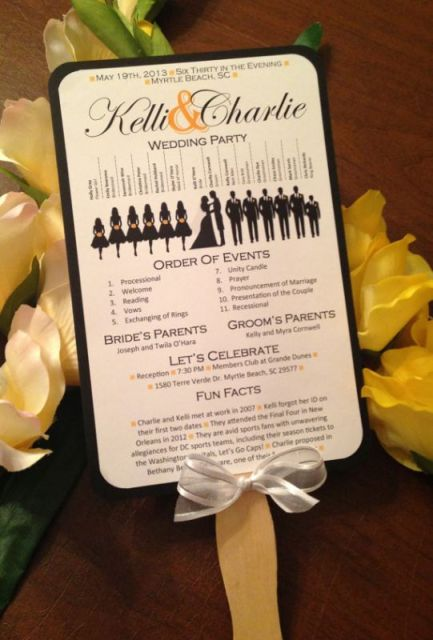 free-wedding-program-with-bridal-party-silhouettes