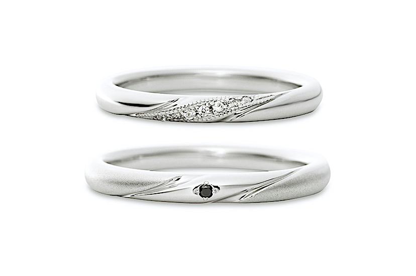 エクセルコダイヤモンドのプラチナ結婚指輪5