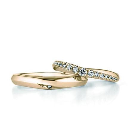 銀座ダイヤモンドシライシのダイヤ入り結婚指輪3