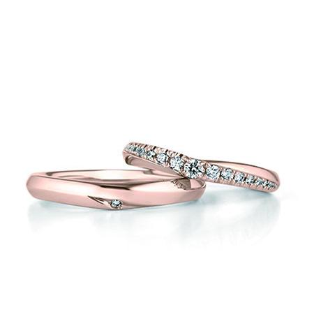 銀座ダイヤモンドシライシのダイヤ入り結婚指輪4