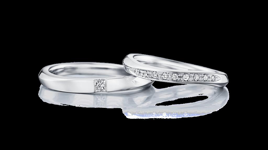 I-PRIMOのダイヤ入り結婚指輪2