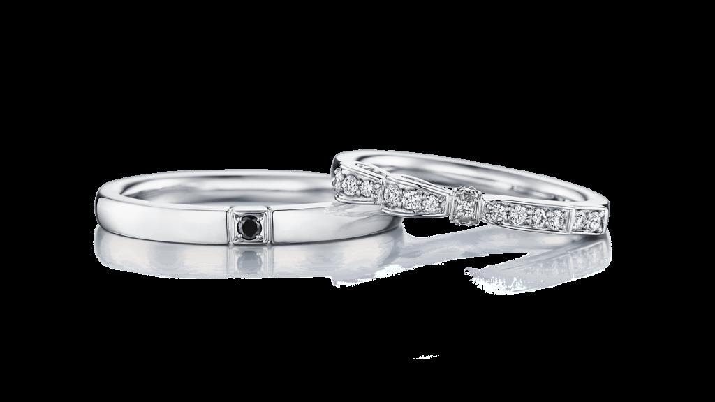 I-PRIMOのダイヤ入り結婚指輪3