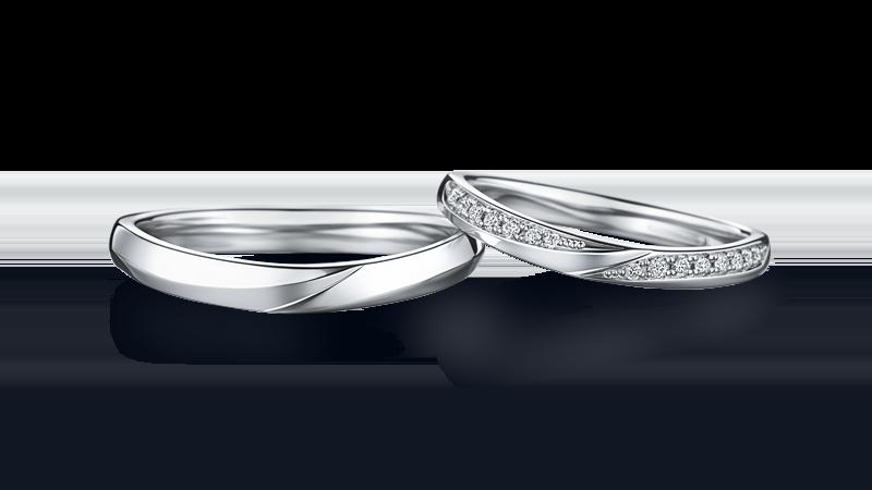 ダイヤ入り結婚指輪 ARTEMISIA