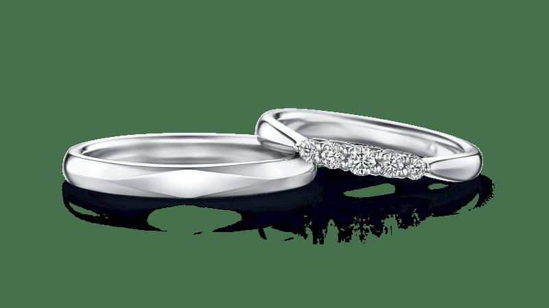 ダイヤ入り結婚指輪 NONA