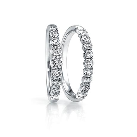 銀座ダイヤモンドシライシのエタニティリング結婚指輪1