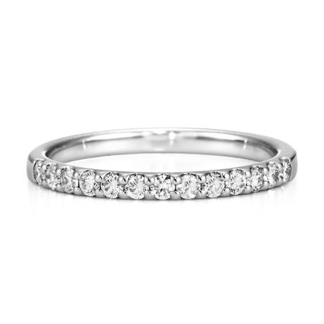 銀座ダイヤモンドシライシのエタニティリング結婚指輪2