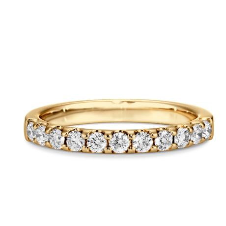 銀座ダイヤモンドシライシのエタニティリング結婚指輪3
