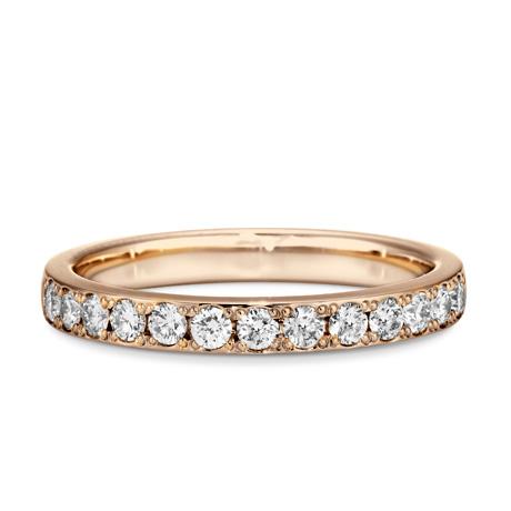 銀座ダイヤモンドシライシのエタニティリング結婚指輪4