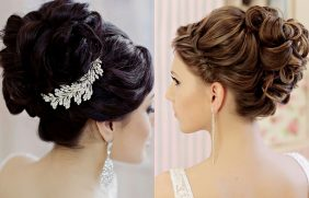 beautiful elegant wedding hairstyles