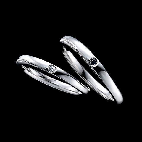 ファッションセンスの高い男性用の結婚指輪