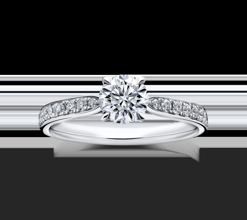 ラザールダイヤモンドの婚約指輪1