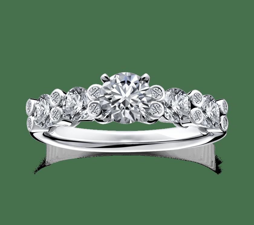 ラザールダイヤモンドの婚約指輪2