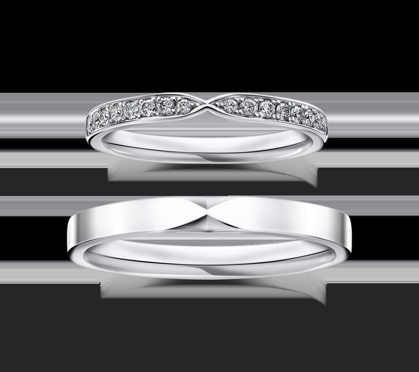 ラザールダイヤモンドの結婚指輪1