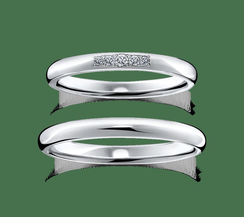 ラザールダイヤモンドの結婚指輪2