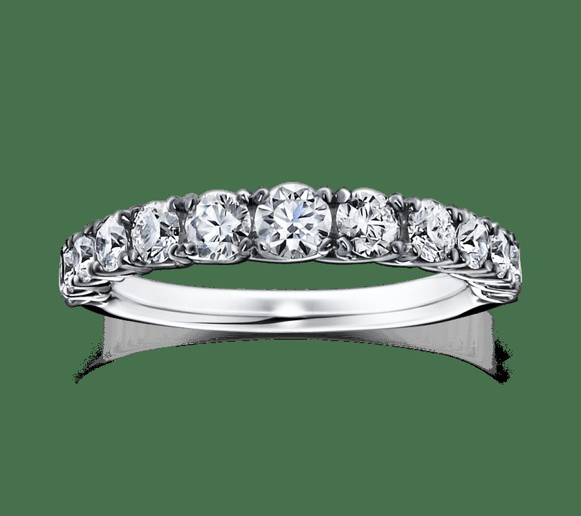 ラザールダイヤモンドのエタニティリング1