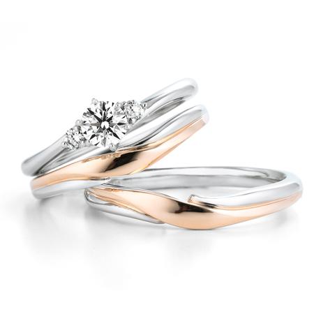 銀座ダイヤモンドシライシのセットリング01