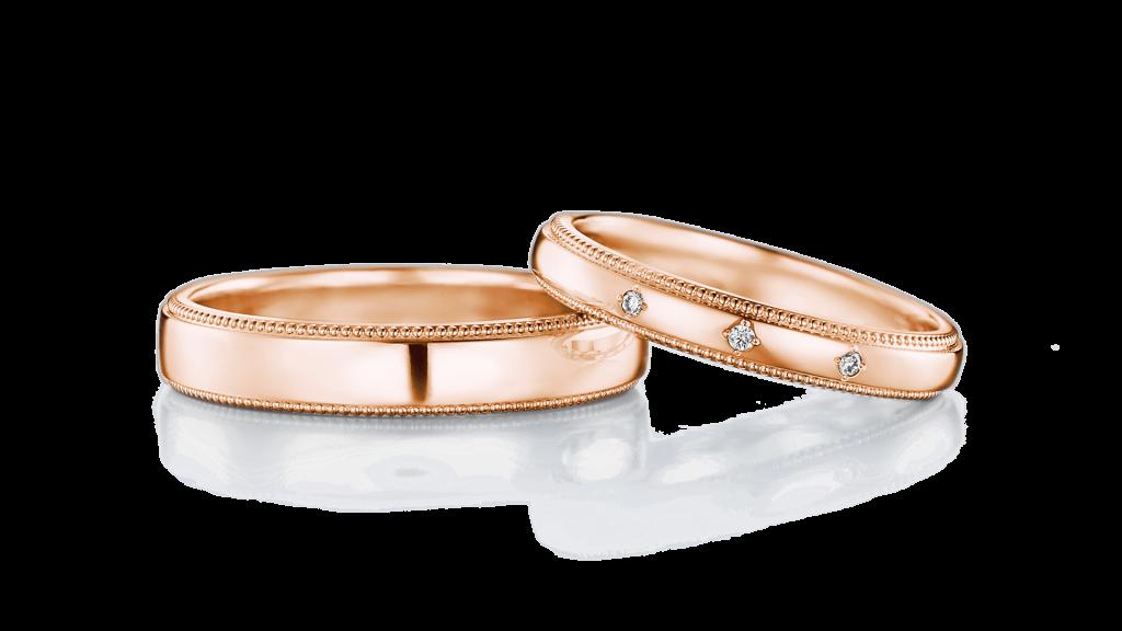 I-PRIMO(アイプリモ)のピンクゴールドの結婚指輪3
