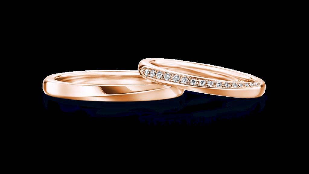 I-PRIMO(アイプリモ)のピンクゴールドの結婚指輪4