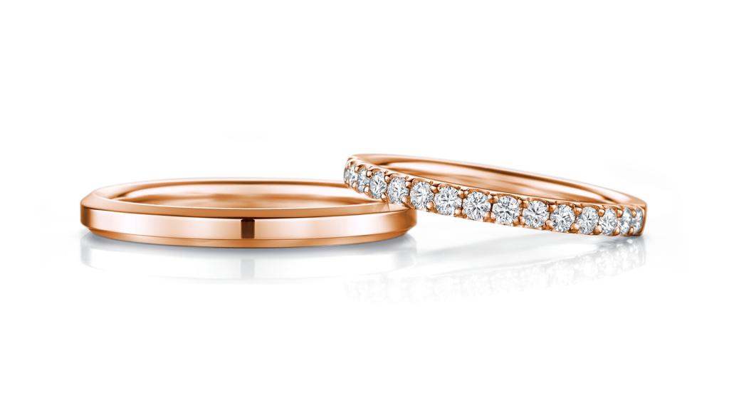 I-PRIMO(アイプリモ)のピンクゴールドの結婚指輪5