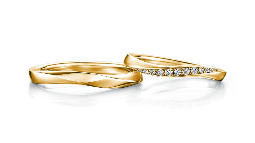 I-PRIMO(アイプリモ)のイエローゴールドの結婚指輪3